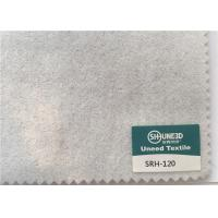 China 120 GSM Garments Accessories Sleeve Head Roll Fabric White And Charcoal Color on sale