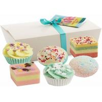 China Cute Natural Vegan Spa Bath Bombs Truffles Gift Set / Children 'S Bath Fizzies on sale
