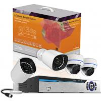 Buy cheap 4CH PLC Power Line Communication CCTV Security Cameras IP Network Wireless NVR System Kit from Wholesalers