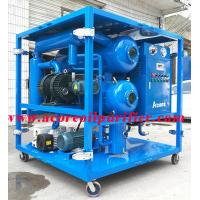 Buy cheap Weather-Proof 10000L/H Vacuum Transformer Oil Treatment Machine from wholesalers