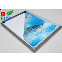 High Brightness LED Snap Frame Light Box Low Heat Wall Mounted For Coffee Bar