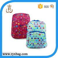 China Kids colorful dot school bag on sale