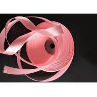 Buy cheap Thin Pink Color Grosgrain Ribbon Bulk Smooth Surface Recyclable Material from wholesalers