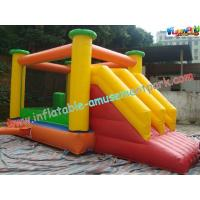 Buy cheap 18 OZ Fire Retardant Inflatable Bouncer Slide  CE Blower For Outdoor And Indoor from Wholesalers
