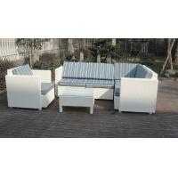 6pcs garden wicker sofa furniture rattan sofa set