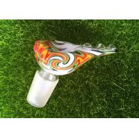 Easy Clean Colorful Glass Smoking Accessories Logo Customized Household