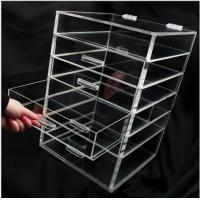 Buy cheap Transparent Silker Print Table Top Display Stands , Clear Acrylic Brochure Holders For Promotion from Wholesalers