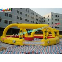 Buy cheap PVC Inflatable Sports Games Race Track , Inflatable Car Race Track from Wholesalers