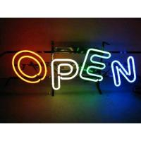 China Open Neon Sign with Color Letters on sale