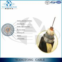 Buy cheap Armoured underwater GYTA53 fiber optic cable Direct-burial cable from wholesalers