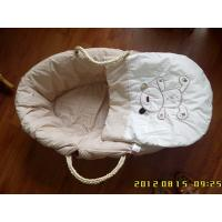 China Dressed moses baby basket on sale