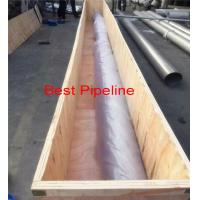 Buy cheap EN 10305 E235 Stainless Steel Pipe High Pressure Seamless Cold Drawn from Wholesalers
