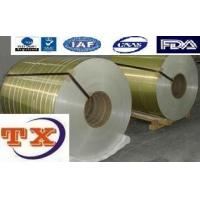 Buy cheap Lacquered Aluminium Coil For Aluminum Flip Off Seals from Wholesalers