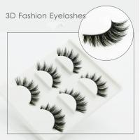 Buy cheap Fashion Eye Makeup Eyelashes Hand Made 3D For Party OEM ODM Service from Wholesalers