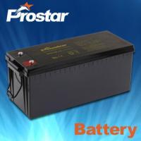 Buy cheap Deep cycle solar batteries 12V 180AH GPD180-12 from Wholesalers