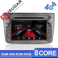 Buy cheap Isudar H53 4G Android Car radio dvd player Auto  For Alfa Romeo Mito 2008- 8 Core RAM 4GB ROM 64GB With GPS Navigation from Wholesalers