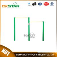 Buy cheap outdoor gym equipment Public Park Used Outdoor Simple Fitness Equipment Uneven Bars from Wholesalers