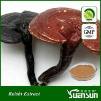 China Organic ganoderma lucidum reshi mushroom powder best price 10%-50% Polysaccharides