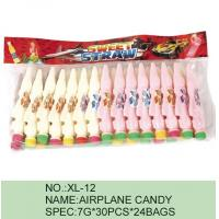 Buy cheap Strawberry Airplane Low Fat Sour Powder Candy Funny HACCP Certification from Wholesalers