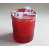 Buy cheap Colored Frosted Glass Scented Candle Decorative Soy Candles Jars with FDA, BV TS-CC053 from Wholesalers