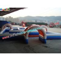 Buy cheap Water-proof Inflatable Sports Games , Inflatable Car Race Track from Wholesalers