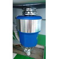 Quality food waste composting machine with continuous feed 560W 3/4 Hp for sale