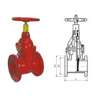 Buy cheap Special fire signal resilient seated gate butterfly valve pressure 1.0 - 2.5MPa from Wholesalers