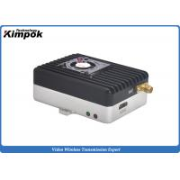 Buy cheap Ultra Light HD UAV Video Transmitter 20KM Long Range COFDM Wireless Video Link 1W RF Power from Wholesalers