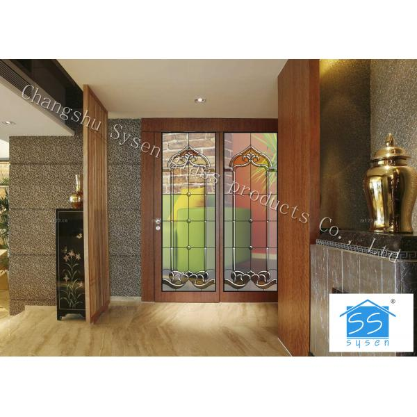 0836 Sliding Glass Doors Theft Proof Brass Nickel Patina