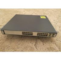 Buy cheap Refurbished Used Catalyst Switch 10/100/1000T POE 4 SFP Std Image WS-C3750G-24PS-S from wholesalers