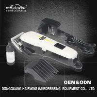 China 2017 new battery hair clipper professional hair cutting machine salon equipment for men on sale