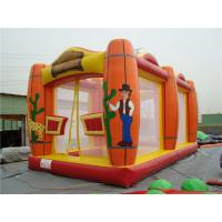 Glof Games Sports Themed Bounce House , Sturdy Indoor Inflatable Bouncers