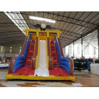 Quality Commercial water slide inflatable fun castle infatable slide for amusement park for sale