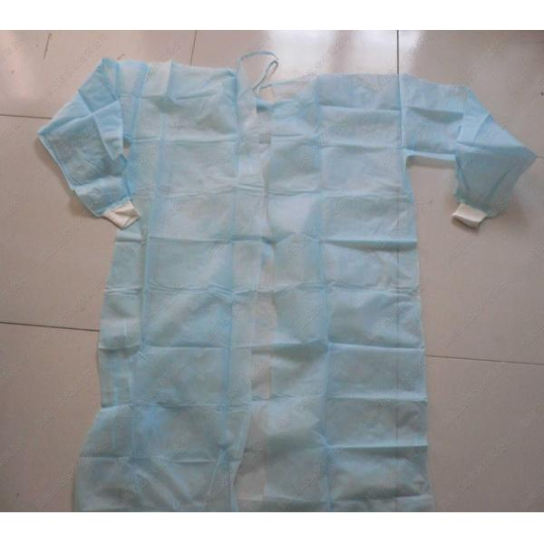 Red / Green Disposable Surgical Gowns Against Liquid Biodegradable ...