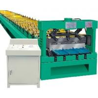 Buy cheap Roof Tile Cold Roll Forming Machine / Automatic Cut Length Off from wholesalers