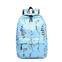 China Blue Pink Purple Color Trendy School Backpacks Student School Bag For Teens on sale