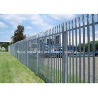 Quality Custom Euro Style Metal Palisade Fencing Anti Vandal Park Guardrail for sale