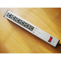 China Metal 6 Outlet Surge Protector Power Strip , Mountable Multiple Plug Socket on sale
