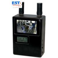 900-2700MHz Handheld Wireless Pinhole Camera Scanner , Real-Time Monitoring
