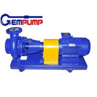 Buy cheap Tray type BF Horizontal hydrochloric acid pump 5.2m ~ 100m Head from Wholesalers