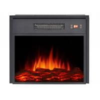 Buy cheap insert electric fireplace heater EF-18 LED flame firebox with matel for living room from Wholesalers
