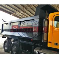 Quality ISO9001 Approval Alloy Tipper Body , Custom Steel Plate Thickness Truck Tipper Body for sale