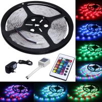 China 5m Length Color Changing LED Strip Lights 300 LEDs SMD 3528 With Remote Control