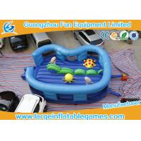 Buy cheap Kids Cartoon Ocean World Inflatable Jump Bouncy Castles For Amusement Park from Wholesalers