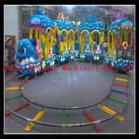 Buy cheap new model 5 couches 18 seats  electric track train, under sea world train ride for sale from wholesalers
