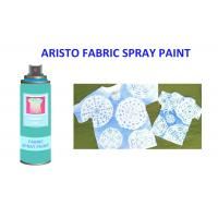 China Alcohol Based Non - fading T Shirt Spray Paint Pink Blue Green Red Textile Painting Spray on sale