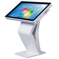 Buy cheap High Definition All In One Desktop Touch Screen , Floor Standing Touch Screen Kiosk from Wholesalers