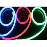 Buy cheap AC 220V Input Neon Led Light Strips , LEDs / M Waterproof RGB Neon Rope Light from Wholesalers