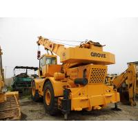USED GROVE RT750 50t ROUGH TERRAIN CRANE FOR SALE for sale