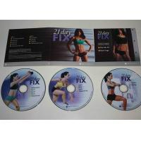 Spanish Audio Fitness Workout DVD , Weight Loss Keep Fit Dvd OEM ODM